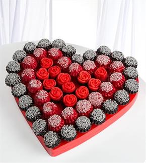 Aşkın Tadı Kek ve Kurabiye Buketi