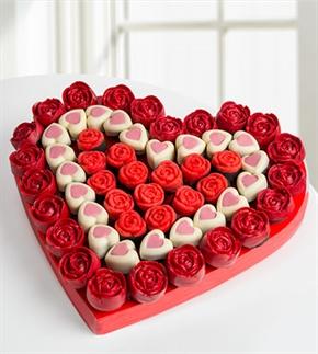 Tatlı Kalpler Kek Buketi