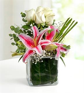 Gizli Bahçe Lilyumlar ve Güller