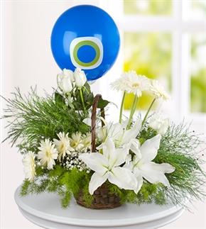 Hoşgeldin Bebek Çiçek Aranjmanı