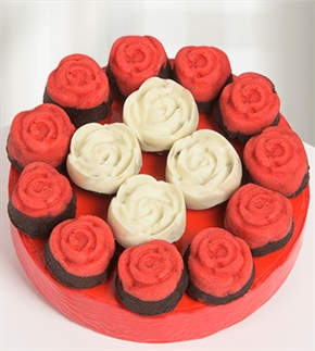 Güllerin Dansı Mini Kek Buketi