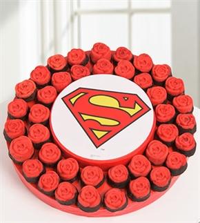 Süperman Olmak Lazım Bazen Kek Buketi