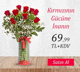 Kırmızı Gül ve Sonsuz Aşk